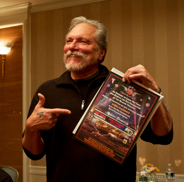Jorma Kaukonen at the December 10 ceremony in New York at which he was formally honored with the Ralph Gleason Award.