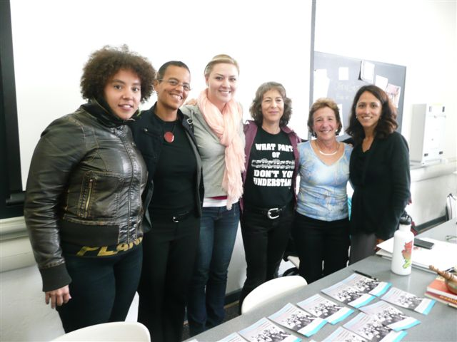 Celebrating another successful Summer Institute: left to right, Visual Arts Presenter Alisha Wormsley, Movement/Performance