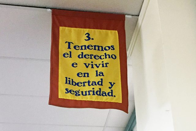 UDHR article 3 in Spanish