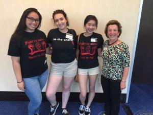 Raychelle Castillo, Justice Wurnitsch-Hogan, Yennhi Li, Sandy Sohcot