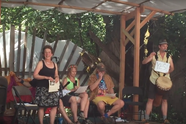 Sandy Sohcot, Matt Butler, et al., Oregon Country Fair 2017