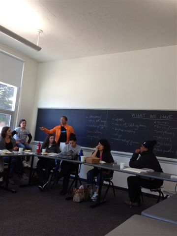 Classroom during Summer Institute