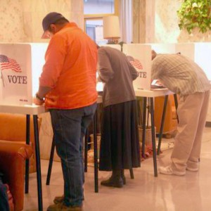 At the Voting Booth, Thomas, theocean, Creative Commons