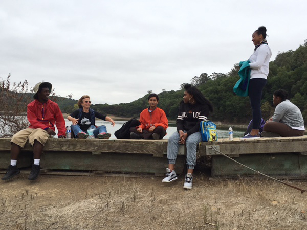 REACH group at Lake Chabot