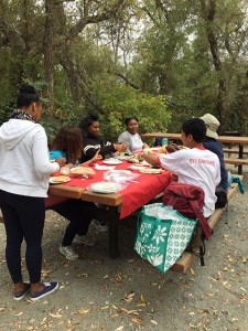 Picnic with REACH participants