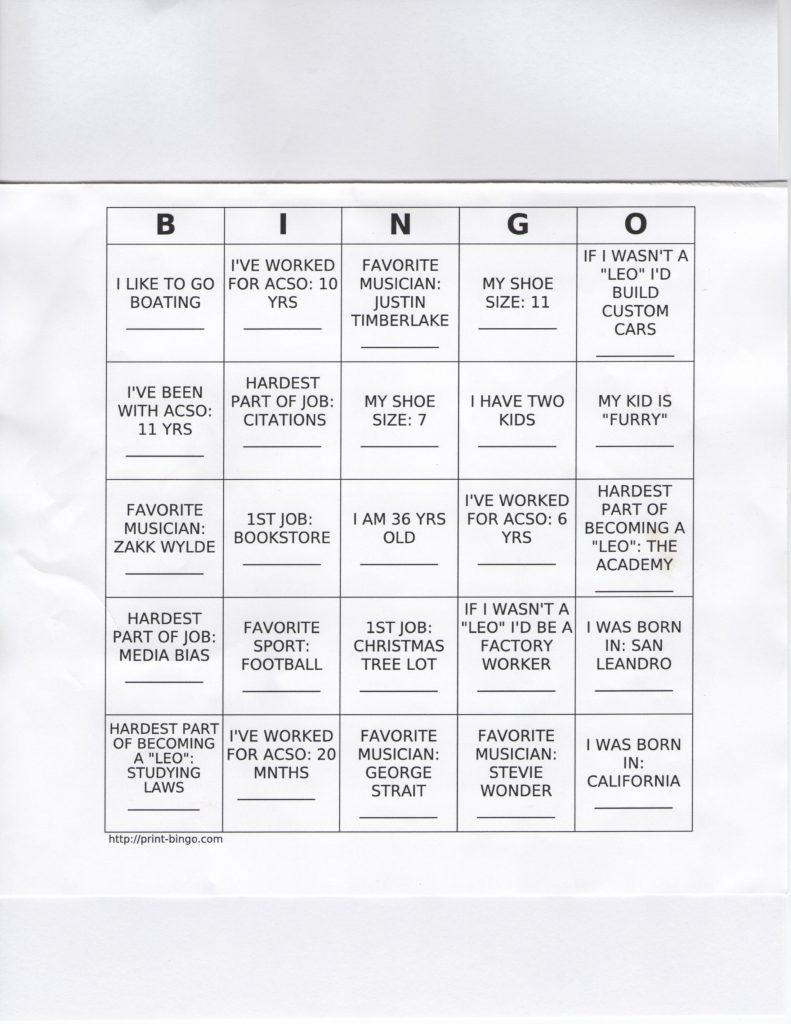 ROP Bingo