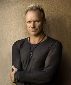 promo photograph of musician Sting