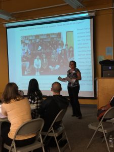 Jill Smith explains how she used human rights principles in her class for English learners at Balboa High School.
