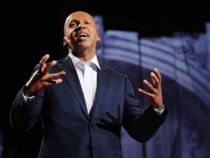 Bryan Stevenson speaking at TED