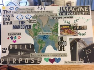 collage of human rights related images