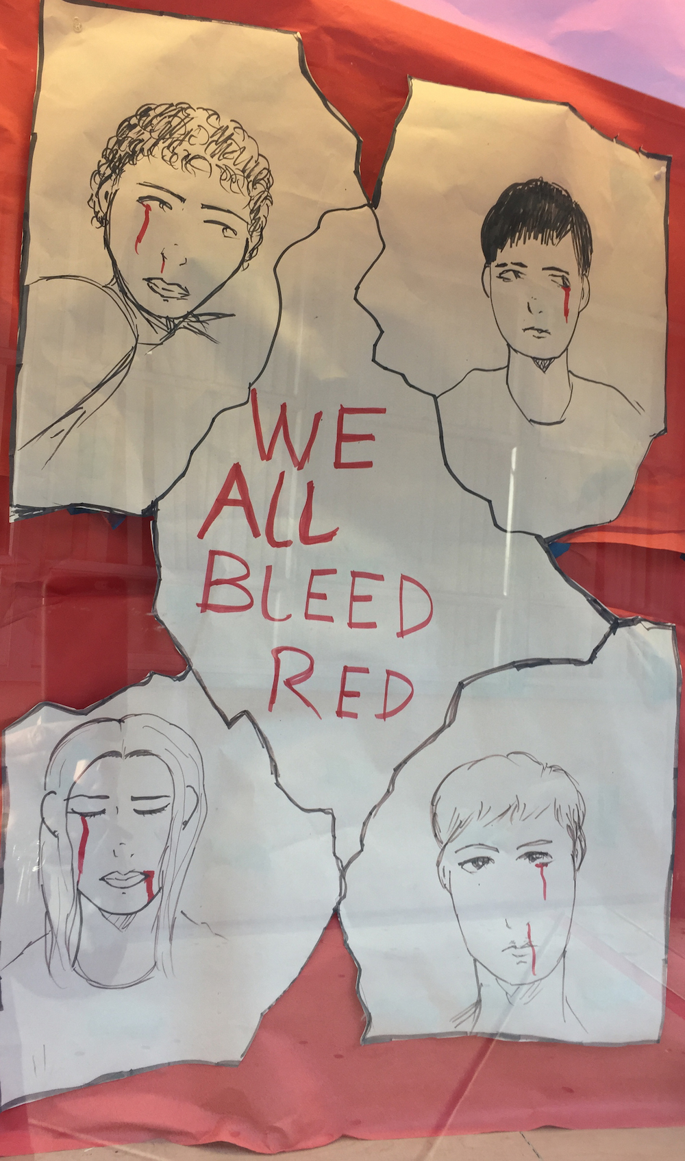 Arroyo High School 2017 Town Hall: We All Bleed Red