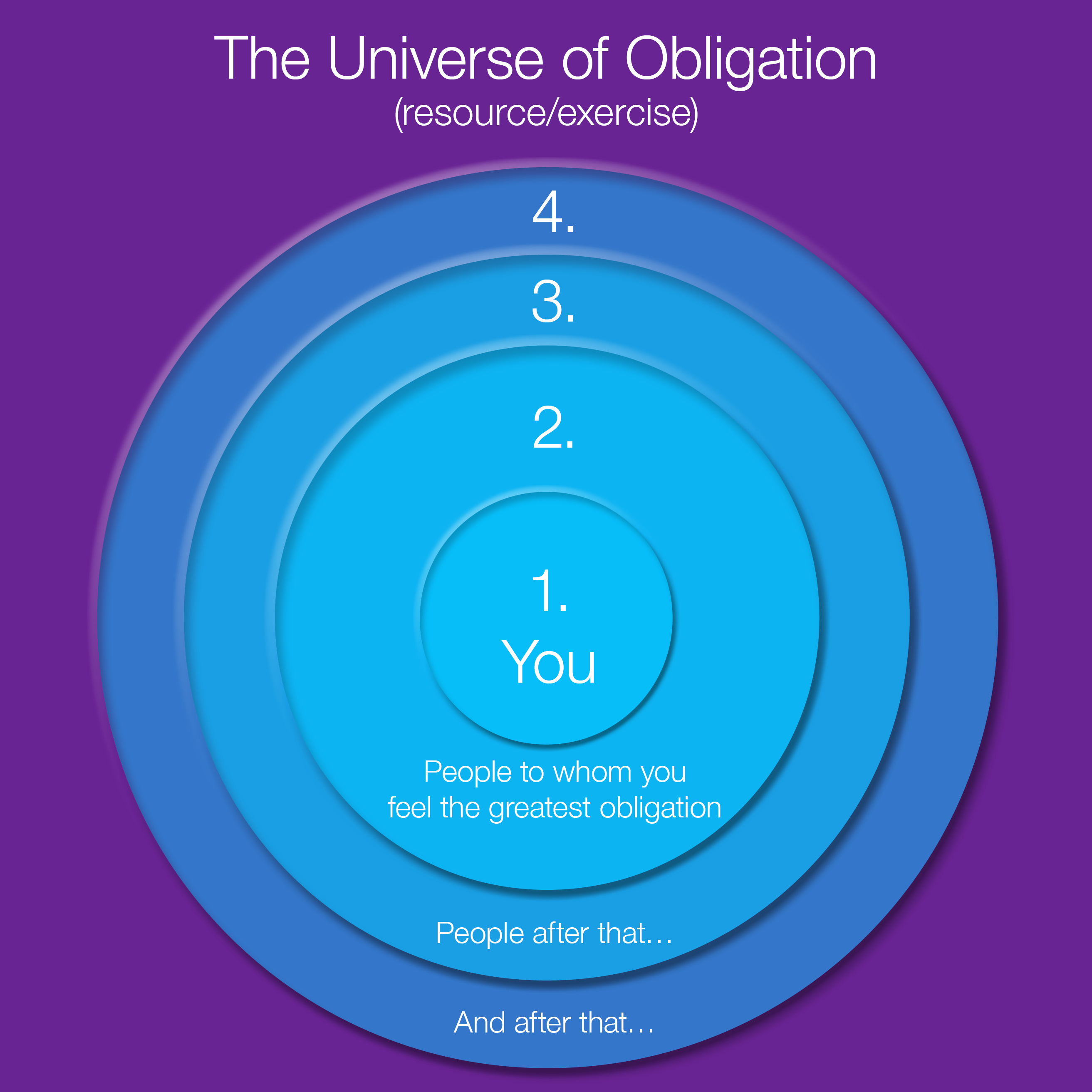 Universe of Obligation infographic