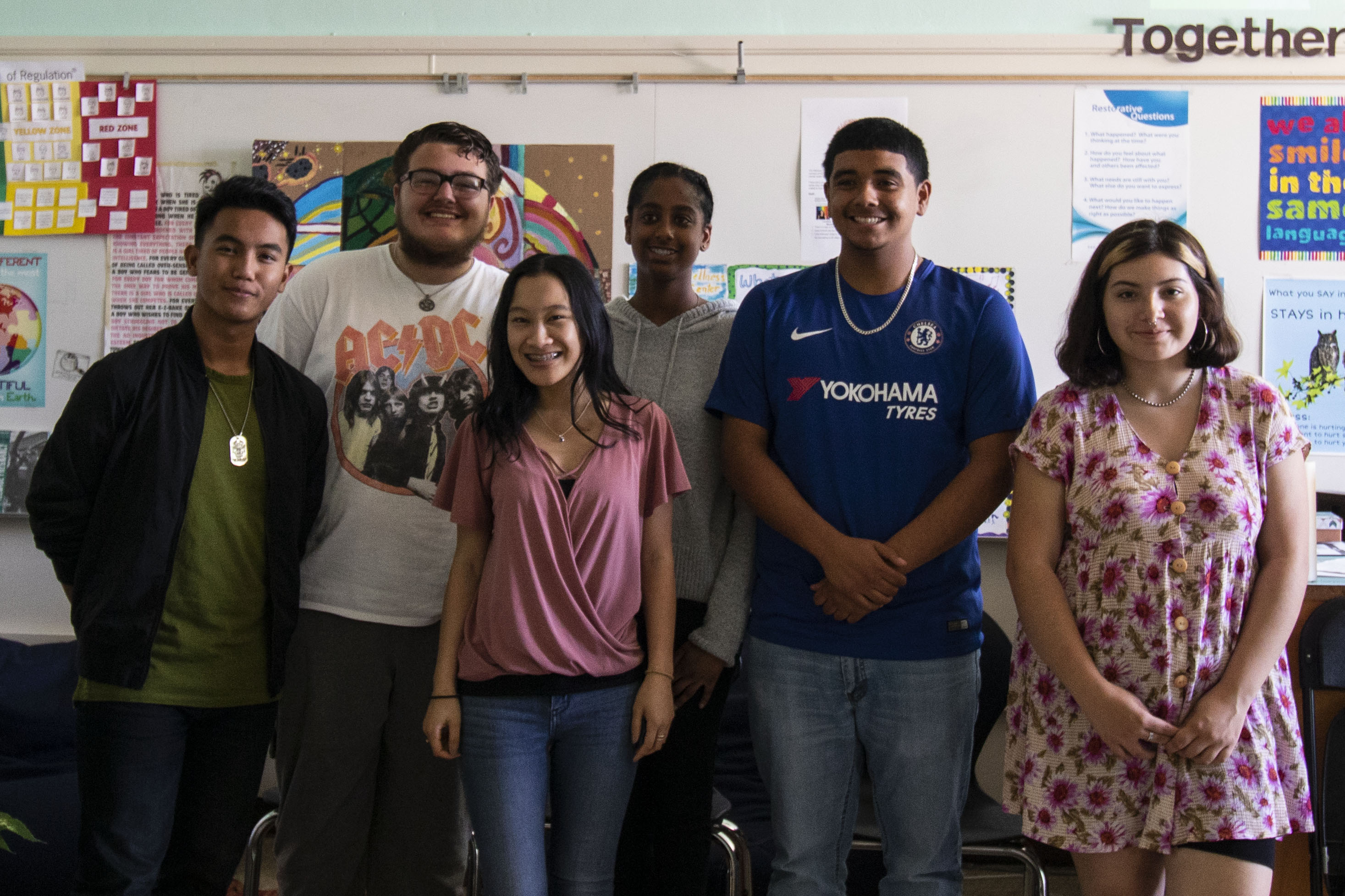 2018–19 Class Of The World As It Could Be Is Within Reach Rite Of Passage Program at Arroyo High School