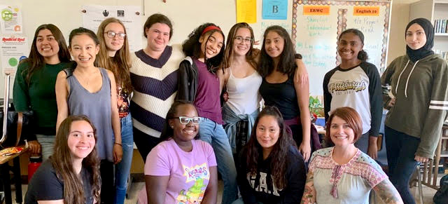 2019-20 Class Of The World As It Could Be Is Within Reach Rite Of Passage Program at Arroyo High School